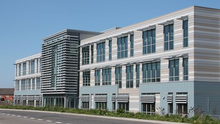 The Knightstone Housing offices at Weston Gateway Business Park.