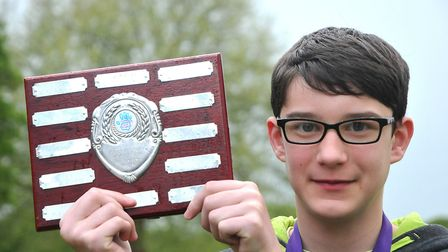 Dillon CollinsCongresbury Youth Partnership Young Persons Awards. SF11,5,18