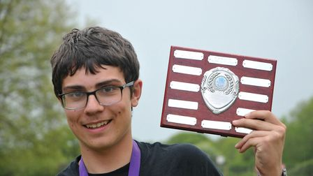 Tom CambleCongresbury Youth Partnership Young Persons Awards. SF11,5,18