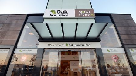 Oak Furniture Land has opened its doors at Weston's Gallagher Retail Park.