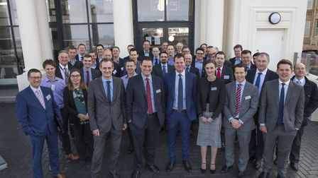 Dozens attended the first North Somerset Professionals Breakfast.
