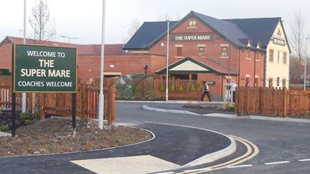 The Super Mare Pub at the Weston Gateway enterprise area. Picture sent in to iwitness24 by Sally Gri