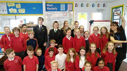 Yeo Moor Primary School pupils have been learning about Spanish culture.