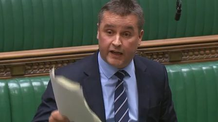 SNP MP Angus MacNeil claims the UK has reached 'peak banana republic'. Photograph: House of Commons.