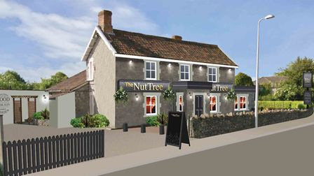 An artist's impression of The Nut Tree following the revamp. Picture: Star Pubs & Bars