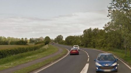 The A370 in Bleadon. Picture: Google