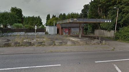 The petrol station has been empty for more than 20 years. Picture: Google
