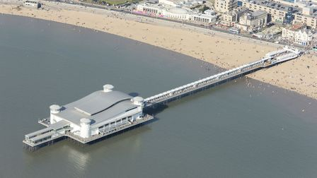 Weston's Grand Pier in 2016. Picture: Damian Grady/Historic England