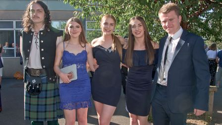 Gordano School, Portishead. Year 13 Prom.
