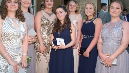 St Katherine's School year 11 prom at Leigh Court in Abbots Leigh.