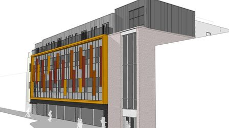 An artist's impression of the plans for TJ Hughes. Picture: AWW Inspired Environments
