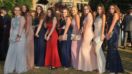 Nailsea School prom. Year 11. (Annette Watts. (V))06,7,18