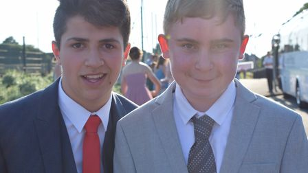 Nailsea School prom was held on Friday night. Picture: Nailsea School