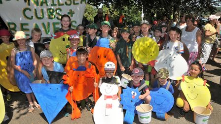 1st Nailsea Scouts beavers and cubsNailsea carnival07,7,18
