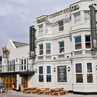 Views of the Cabot Court Hotel, Sea Front, WsM.