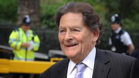 Former Chancellor of the Exchequer Nigel Lawson. Photograph: Stefan Rousseau/PA.