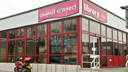 Worle Library.