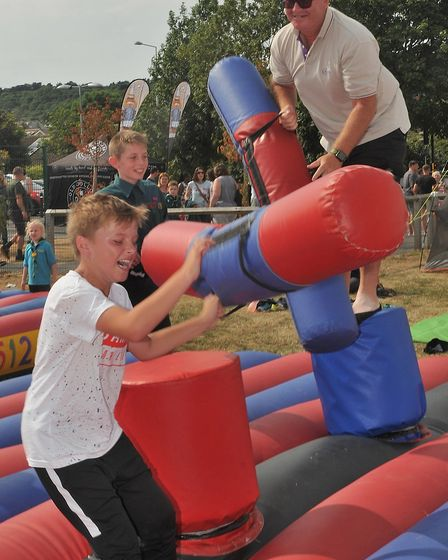 The summer party at @Worle. Picture: Jeremy Long