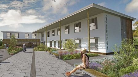 An artist's impression of the new surgery. Picture: Mendip Vale Medical Practice