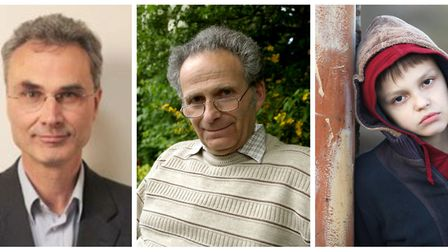 Councillors Donald Davies (left) and Tom Leimdorfer (centre) have criticised North Somerset's inequa