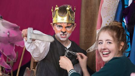 Kids can get into costume and take to the stage in drama-themed activity days. Picture: Getty Images