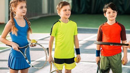 Coming soon after Wimbledon, tennis days for kids can be popular. Picture: Getty Images/iStockphoto