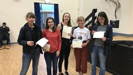 Gordano School students have achieved excellent results.
