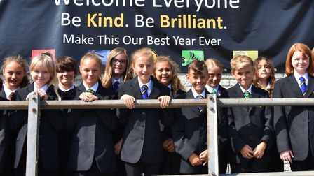 Clevedon School celebrated the arrival of its new year sevens and the completion of £400k worth of s