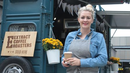 Fay Powell hopes to make Ginger and Rhubarb a success in Weston town centre.