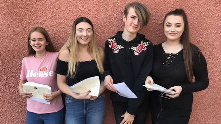 Gordano School students collected their GCSE results today (Thursday) after a nervous wait.