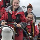Some of North Somerset's care leavers on the sailing trip. Picture: North Somerset Council