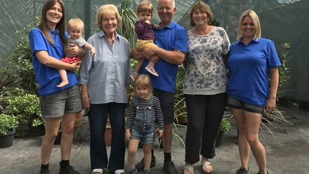 Middlecombe Nursery, run by the North family, has been in business for 30 years.