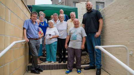 Liverty and John West hosted a celebratory barbecue to mark the Give It Back project. Picture: Heidi