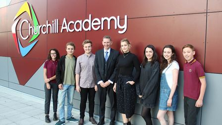 Churchill Academy celebrated the successes of its top pupils at its annual presentation evening on S