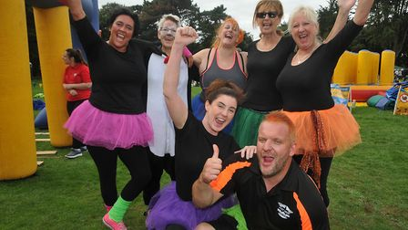 Bolts Reserves from Weston Hospice. Picture: Jeremy Long