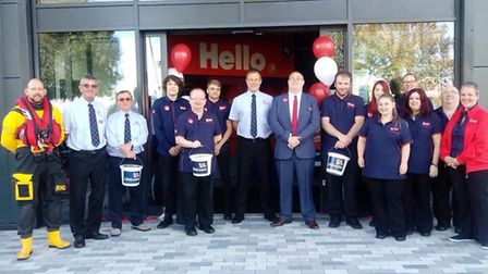 Buzz Bingo reopened with a ceremony featuring Weston RNLI at the end of September. Picture: Buzz Bin