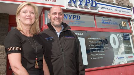New business, Now Your Plumbing Department (NYPD), The Boulevard, Weston-s-Mare. Picture: MARK AT