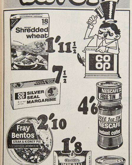 Ads 20th September 1968 Edition. Picture: WESTON MERCURY