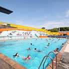 Record numbers of people visited the pool during the summer.