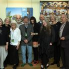 The Wells Art Contemporary committee. Picture: Ann Cook Photography
