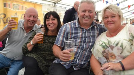 Weston Lions Real Ale and Cider Festival. Picture: Eleanor Young