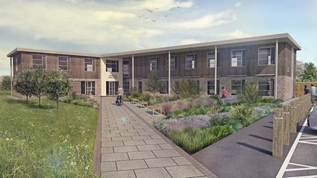 An updated artist's impression of the surgery. Picture: Mendip Vale Medical Practice