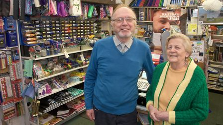 Matt and Rosemary Westley, owners of Morgan Westley in High Street, Portishead, are retiring and the