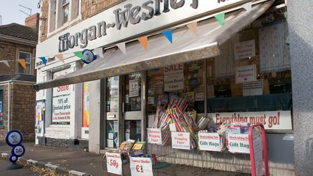 Morgan Westley in High Street, Portishead, owners are retiring and the shop will close unless a buye