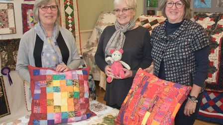 Congresbury Quilters exhibition, raising money for Childrens Hospice South West. Picture: MARK AT