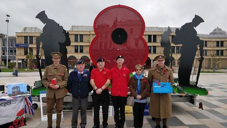 The travelling Poppy Of Honour. Picture: Eleanor Young