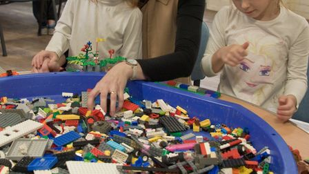 LEGO workshop at Weston Museum. Picture: MARK ATHERTON