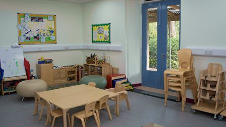 Yatton Library is now home to the children's centre. Picture: Mark Atherton