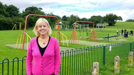 Cllr Denise Hunt started a petition to improve facilities at Castle Batch, Picture: Denise Hunt