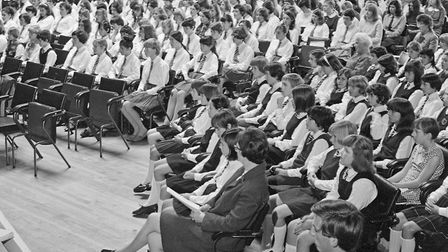 Pupils from Winterstoke Secondary Girls School at their speech day and prizegiving. Picture: WE
